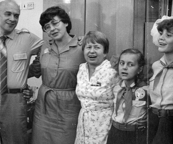 1984 Александра Пахмутова и Николай Добронравов