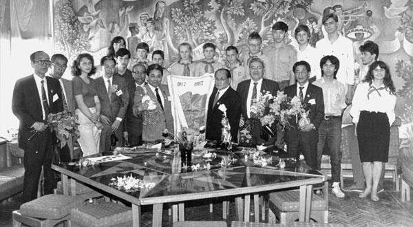 1987 Японские гости в КИДе
