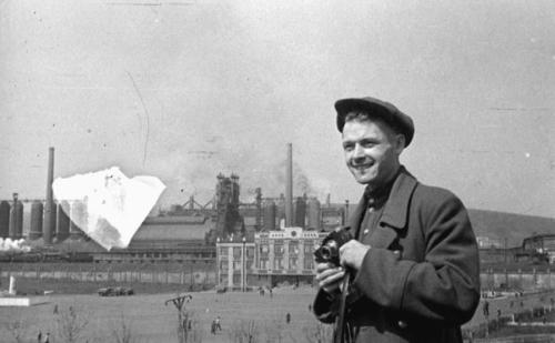 Валерий Булычев, Кузнецкий металургический завод, до ВОВ