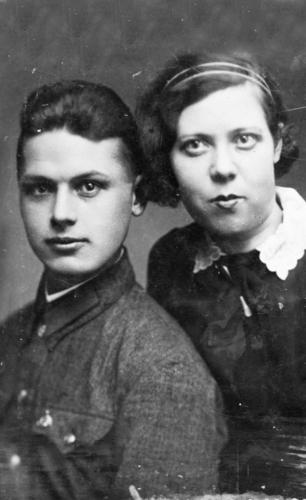 Валерий и Валентина Булычевы, 1935