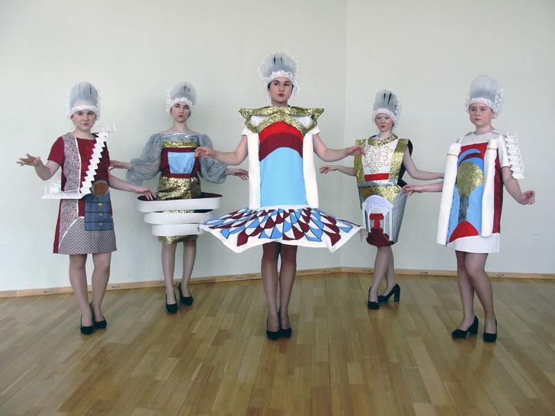 Театр моды «Клеопатра» Коллекция «Залы Зимнего дворца»