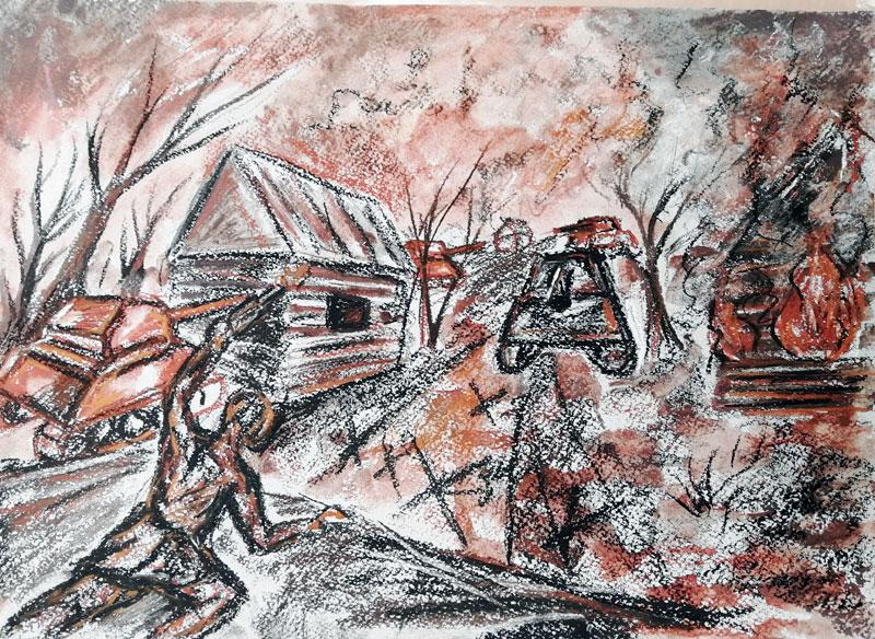 Бубнова Олеся «Его последняя битва под Курском»