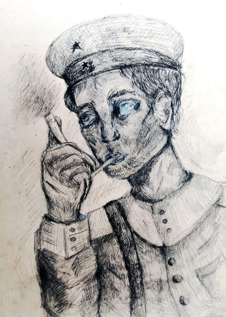 Шипова Екатерина «Военный портрет моего прадеда»