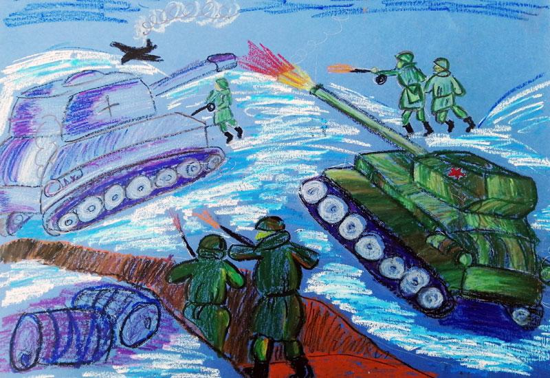 Иволжатова Алена «Битва гороховцев за Сталинград»