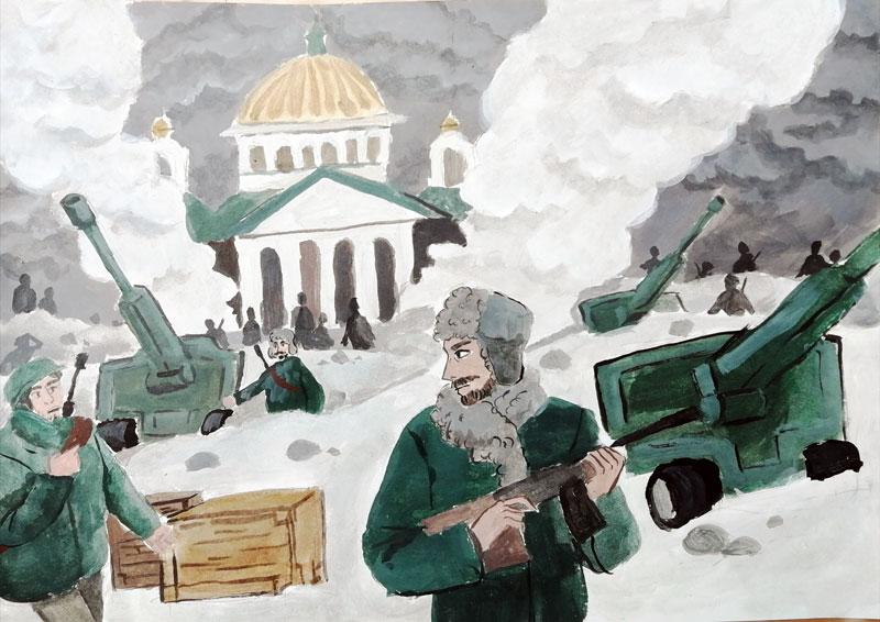 Рудакова Виктория «Защищая Ленинград»