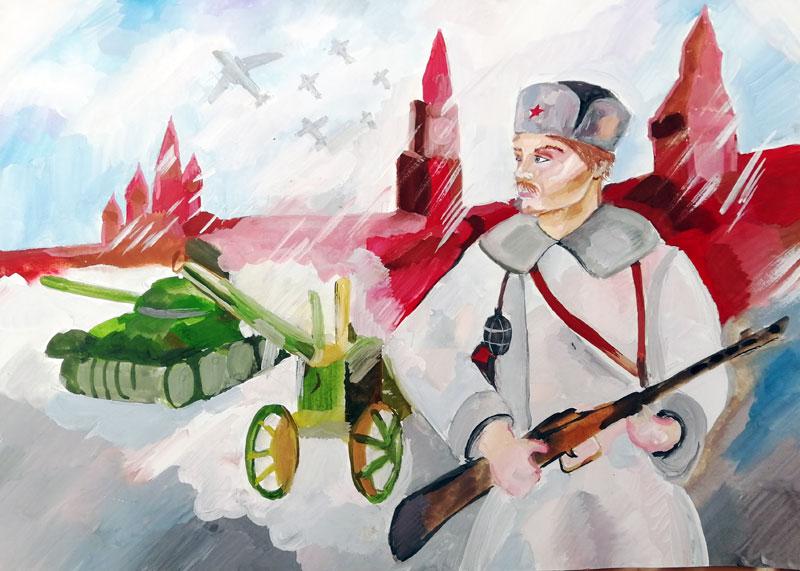 Шлехтеня Анастасия «Битва за Москву»